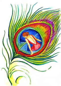 Behind blue eyes by Kseniya Lisitsyna