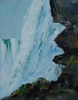 Behind Niagara Falls by Judith Rhue