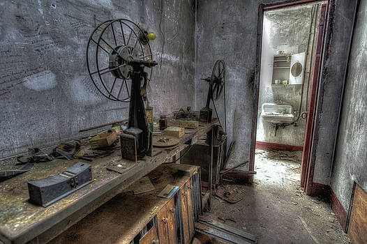 Behind the Projector Room by John Hoey