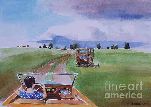 Behind the Wheel by Oleg Konin