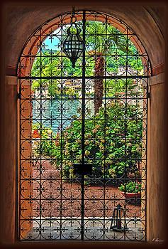 Behind the Wrought-Iron Door by Hanny Heim