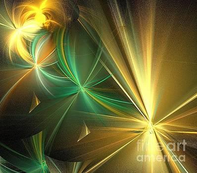 Beige Green Wishes by Kim Sy Ok