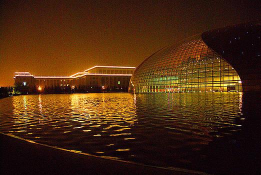 Beijing Opera House  by Larry Moloney