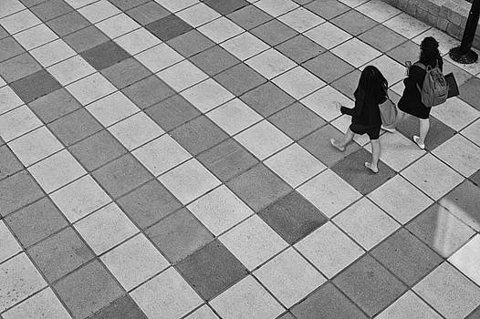 Being Human In A Checkered World by Cornelis Verwaal