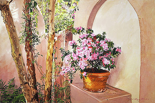 Bel-air Azaleas by David Lloyd Glover