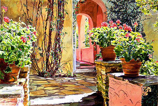 David Lloyd Glover - Bel-Air Geraniums