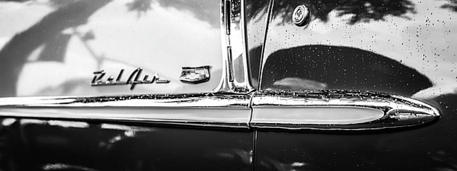 Bel Air profile black and white by Geoff Mckay