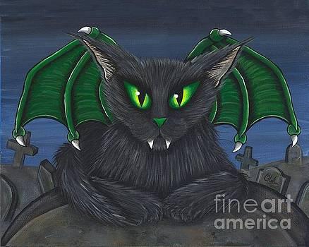 Bela Vampire Cat by Carrie Hawks