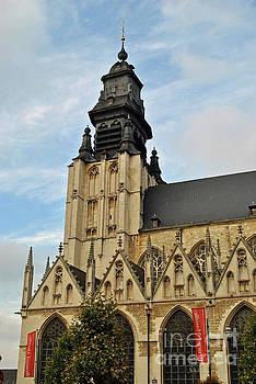 Jost Houk - Belgium Church View
