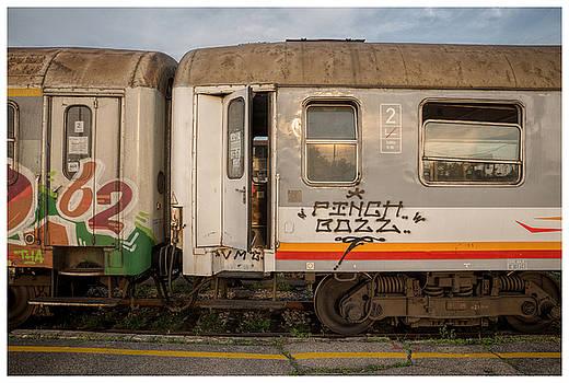 Belgrade Trains by Eric  Bjerke