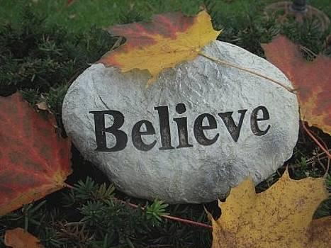 Believe by Deborah Finley