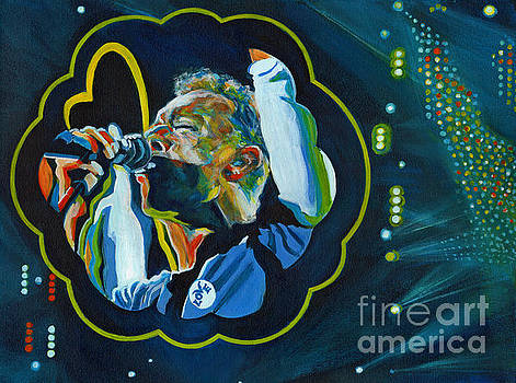 Believe In Love - Chris Martin by Tanya Filichkin
