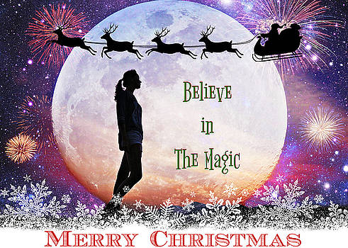 Believe In The Magic of Christmas by Aurelio Zucco
