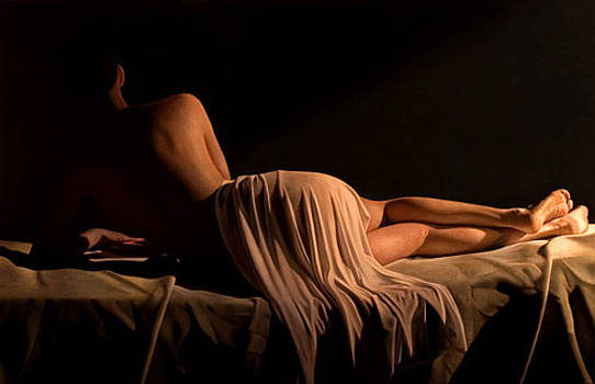 Belinda reclined I by Toby Boothman