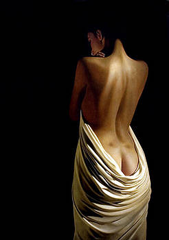 Belinda with drape by Toby Boothman