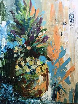Belize Pineapple by Karen Ahuja