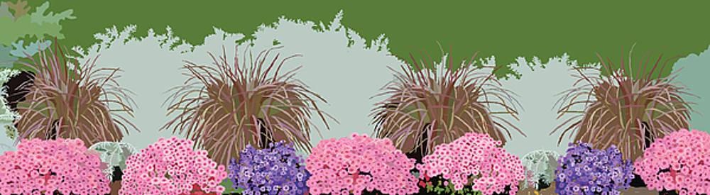 Belknap Mill Flowers by Marian Federspiel