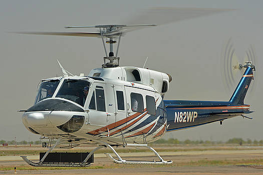 Bell 212 N82WP Phoenix-Mesa Gateway Airport Arizona April 15 2016 by Brian Lockett