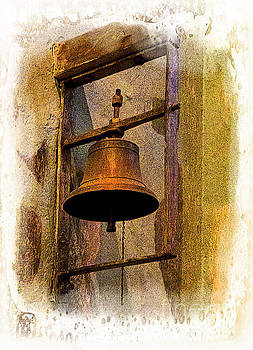 Bell In The Old Cathedral Of Cuenca, Ecuador by Al Bourassa