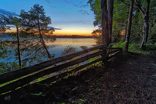 Bell Point Trail by Thomas Ashcraft