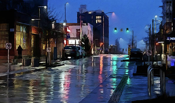 Bell Street - Seattle by William Wooding