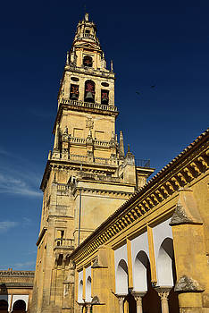 Reimar Gaertner - Bell tower with Saint Raphael previously minaret of the Cordoba