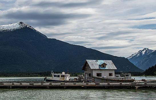 Bella Coola Harbour by Jennifer Ansier