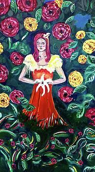 Bella in Roses by Kendall Wishnick Adams