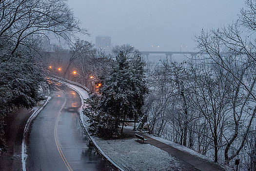 Belle Isle Early Snowfall by Doug Ash