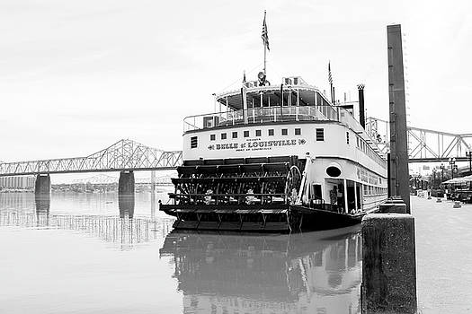 Art Block Collections - Belle of Louisville Docked