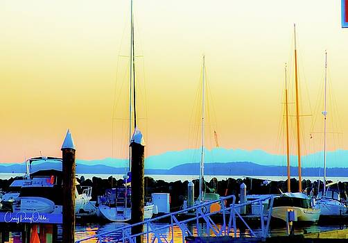 Bellingham Bay pastels by Craig Perry-Ollila