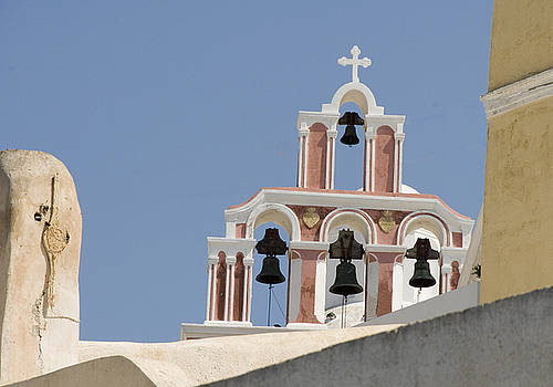 Bells of Santorini by Charles  Ridgway