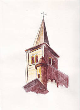 Belltower by Connie Morrison