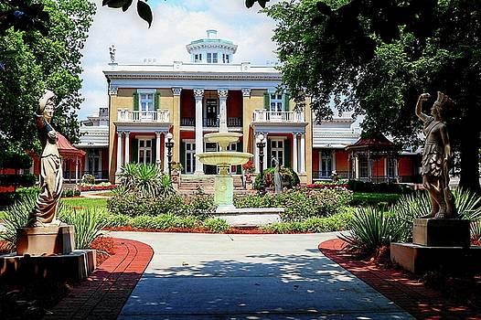 Belmont Mansion by Carol Montoya