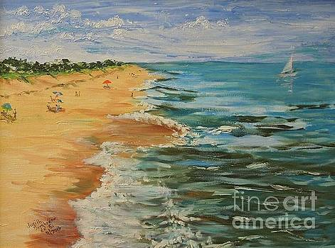 Beloved Beach - SOLD by Judith Espinoza