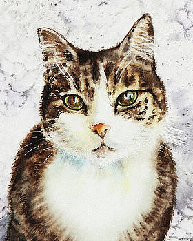 Beloved Cat by Irina Sztukowski