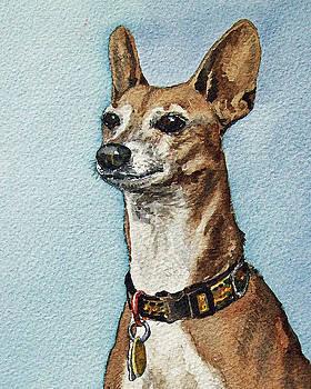 Beloved Dog by Irina Sztukowski