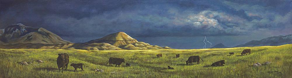 Belt Butte Spring by Kim Lockman