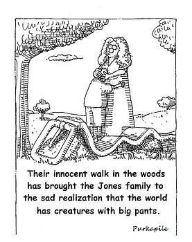 Belt in the woods. by Allen Purkapile
