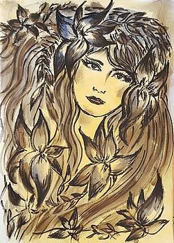 Beltane Goddess by Pia Tohveri