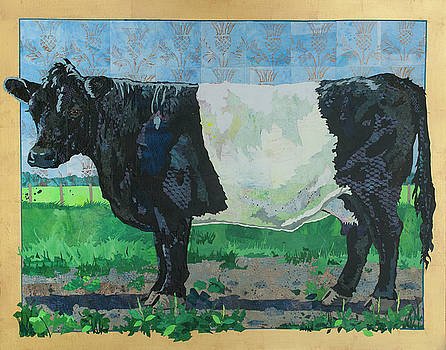 Belted Galloway Cow by Alyson Champ