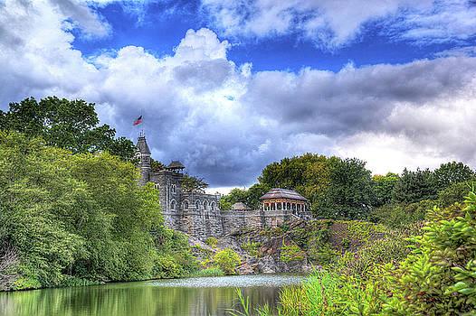 Belvedere Castle Central Park by Allan Einhorn