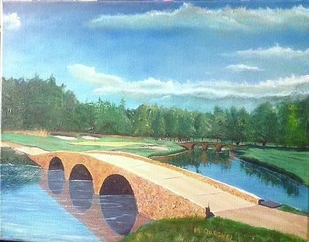 Ben Hogan Bridge PGA Masters in Atlanta Hole No. 12 by Marcel Quesnel