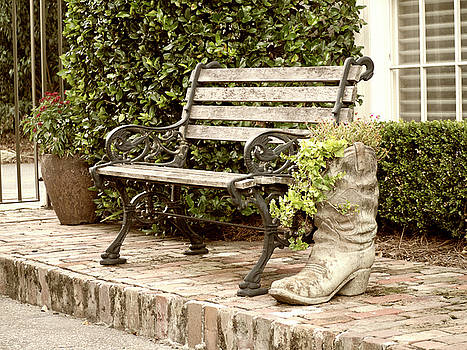 Bench and Boot 2 by Michael Colgate