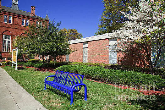 Jill Lang - Bench at Johnson C Smith University