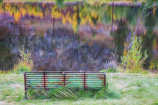 Bench For Day Dreaming by James BO Insogna