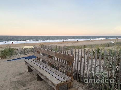 Bench of Peace  by Arianna Grott