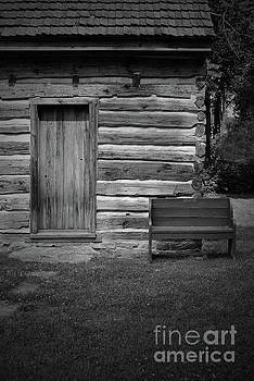 Jost Houk - Bench of the Log Cabin