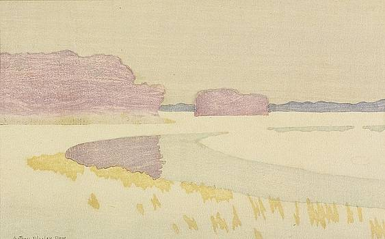 Bend Of A River by Arthur Wesley