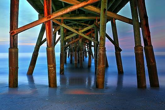 Carol Montoya - Beneath Flagler Beach Pier